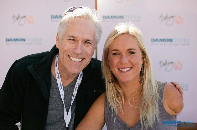 Dr. Roeder & surfer Bethany Hamilton