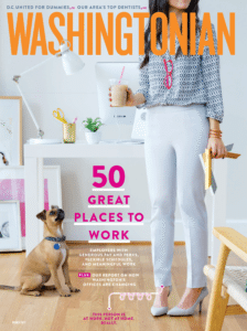 Dr. Hughes Voted Top Dentist in Washingtonian Magazine